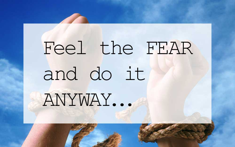 Feel the Fear Giveaway